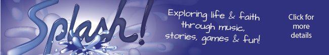 Splash web banner - click for more details