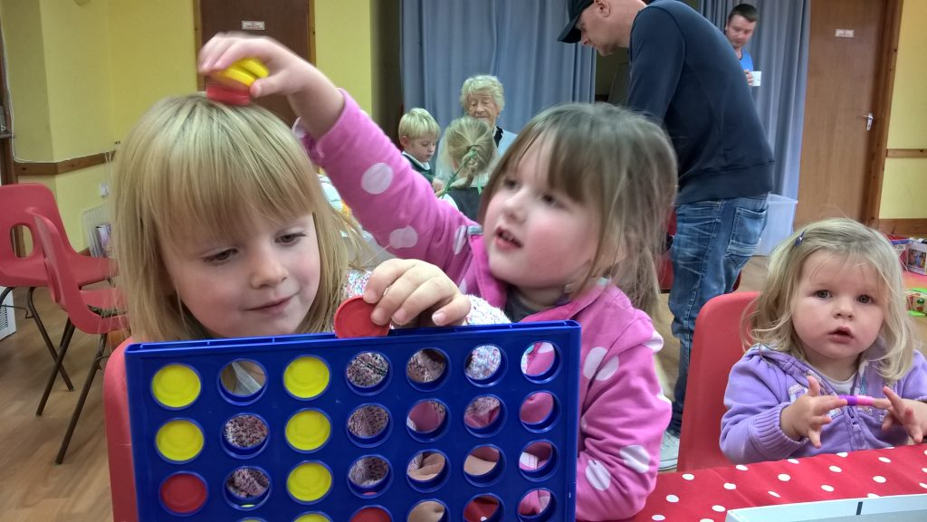Connect 4 at The Wave Community Cafe