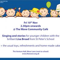 Singing & Stories @ The Cafe